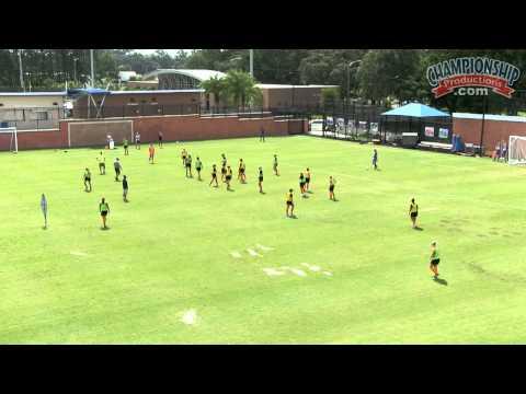 All Access Florida Soccer Practice Pt. 1