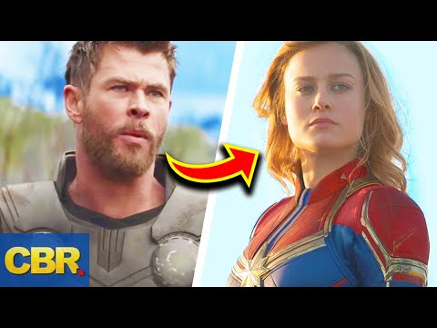 Captain Marvel Will Probably Fight An Avenger In Endgame