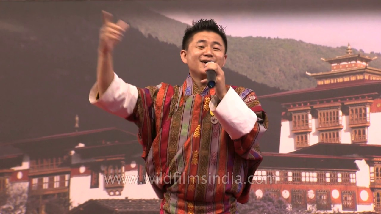 All time favourite Song - Boom Boom by Yeshi Tenzin during Bhutan week in  India 2018