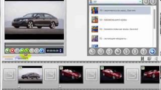 Создание слайд шоу с помощью Nero Vision 2009