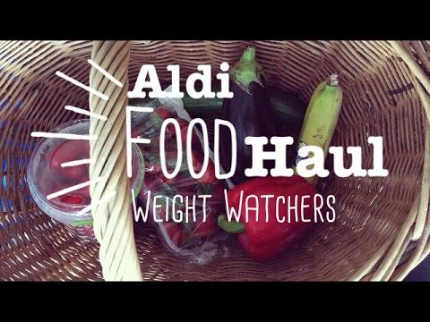 Food Haul Aldi süd #3 deutsch Weight Watchers gesund abnehmen