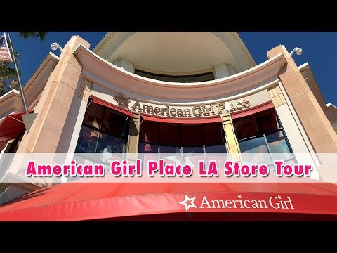 American Girl Doll Store And Cafe Los Angeles At The Grove Tour ~ August 2019 AGP Store Report
