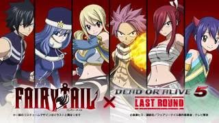 Dead Or Alive 5: Last Round- Fairy Tail Mashup DLC Costumes Trailer
