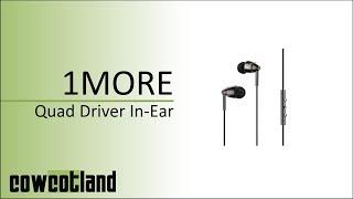 [Cowcot TV] Présentation casque 1More Quad Driver In-Ear