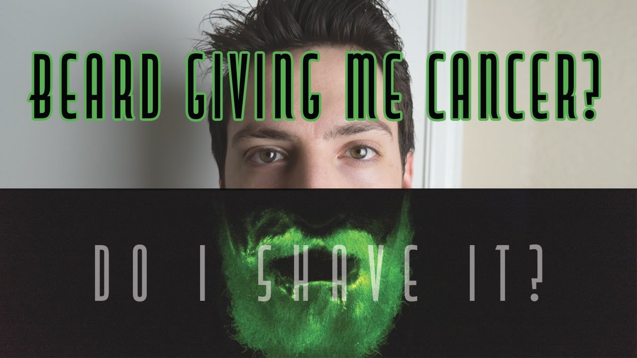 shaving after 6 months beard started glowing in the dark youtube