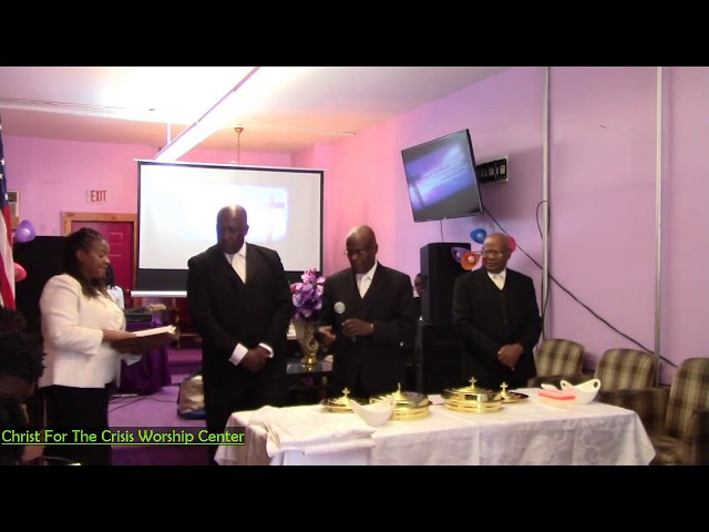 Christ For The Crisis Worship Center - Communion
