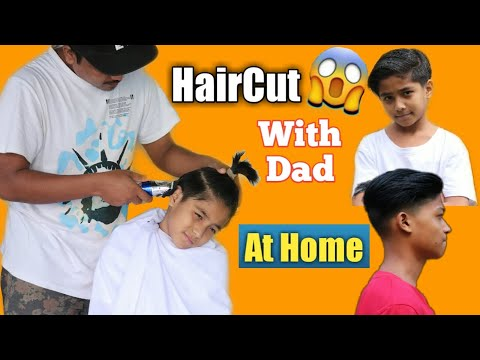 how-to-cut-hair-at-home-|-dad-cut-my-hair-|-haircut-vlogs-|-haircut-tutorial-|-asquare-crew