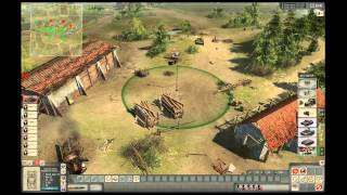 Men of War Assault Squad: New Patch 4v4 on Bazerville Germany vs USSR with the boyz