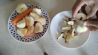 Салат з моркви та яблук - супер смачний!