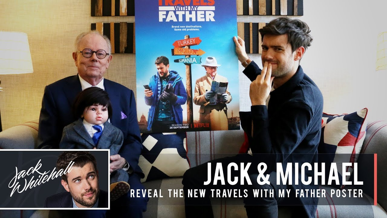 Jack Whitehall & His Dad Michael - Travels With My Father Season 2 | Poster Reveal
