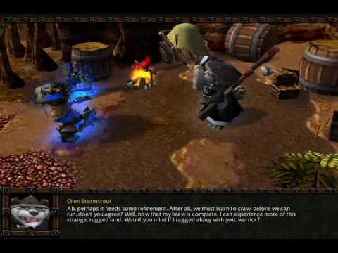 Let's Play Warcraft III: The Frozen Throne 094 - Chen Stormstout