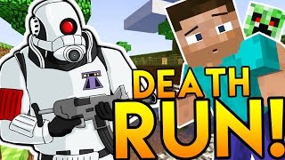DEATH RUN! - Minecraft Meets Garry's Mod (Custom Modded Minigame)