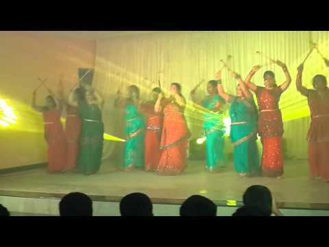 Santhome Church Matharasangam Dance 2016