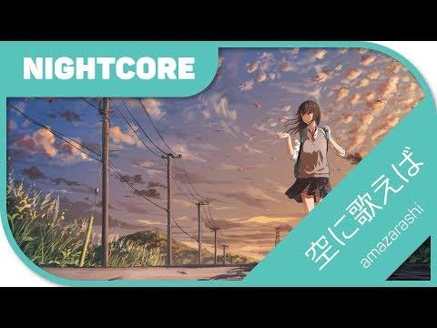 🎼【Nightcore】- 空に歌えば/Sora ni Utaeba 『amazarashi』 Boku no Hero Academia S2 OP2