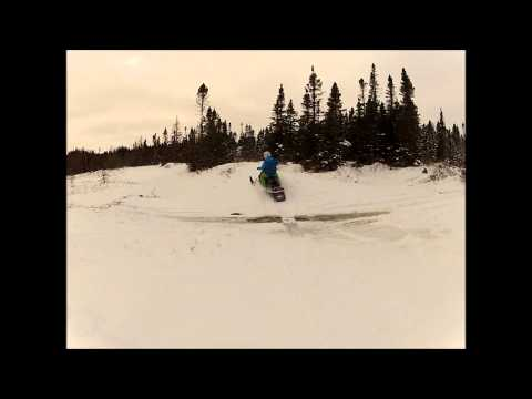 Shoal Harbour Pond Skidooing