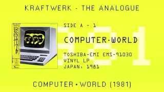 Kraftwerk - Computer World (1981) Vinyl LP, Japan