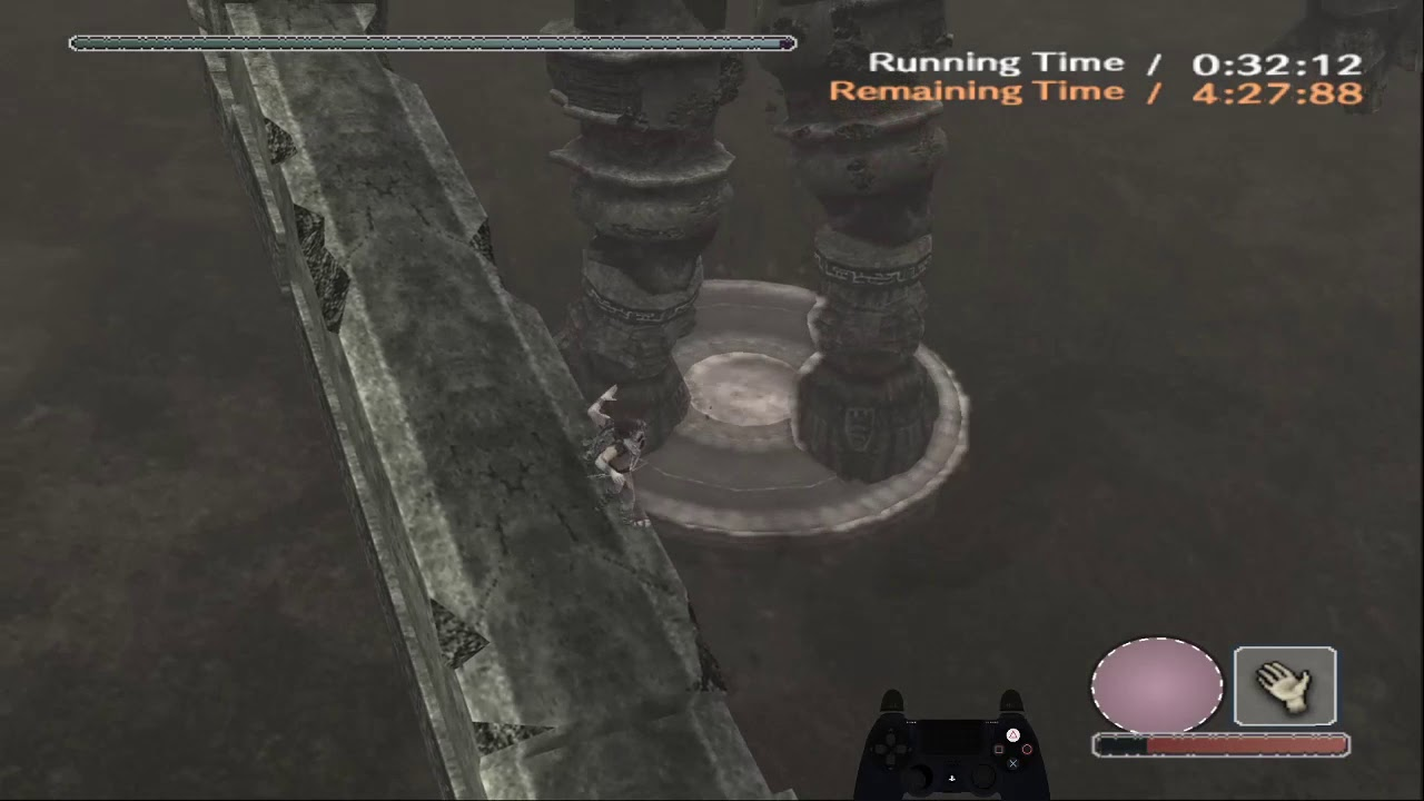 Shadow of the Colossus physics be like: