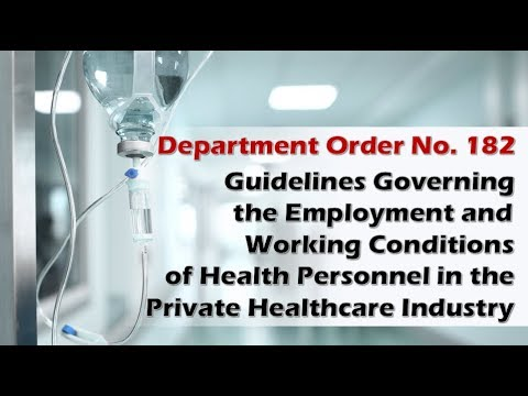 OSH for Health Personnel