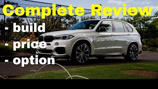 2018 BMW X5 xDrive50i M Sport Individual - Build Your Own Review Summary (Fully Loaded)