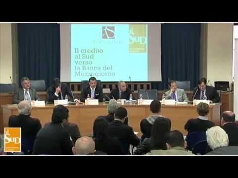 Il credito al Sud verso la Banca del Mezzogiorno - Reggio Calabria