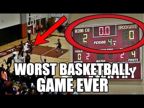 The WORST High School Basketball Game Ever