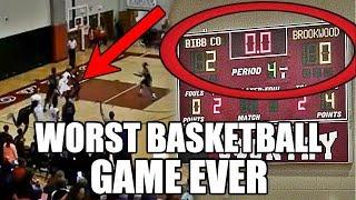 The Worst High School Basketball Game Ever