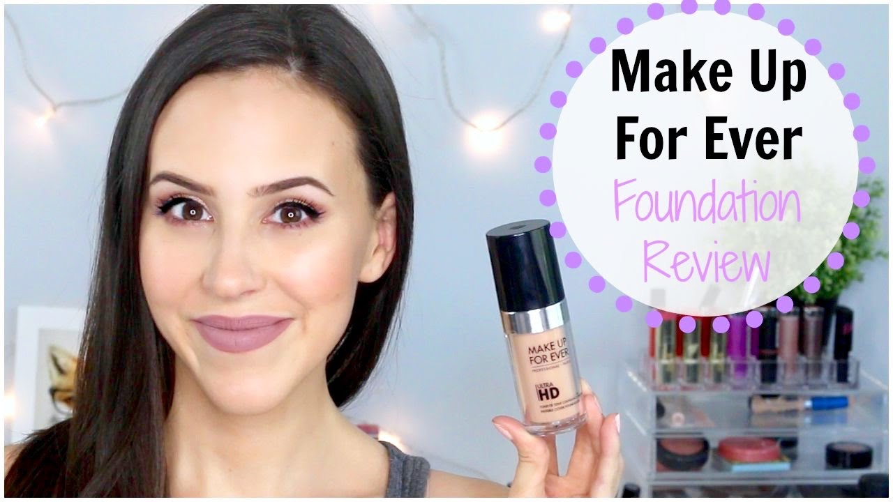 Makeup forever hd foundation review youtube