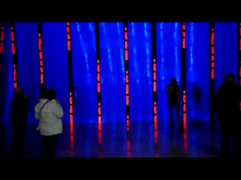 Jenny Holzer, Installation for Bilbao Permanent display Guggenheim Museum Origin Dan Brown