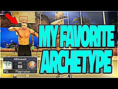 MY FAVORITE ARCHETYPE IN THE GAME!! FASTEST PLAYER POSSIBLE ! NBA 2K17 MYPARK