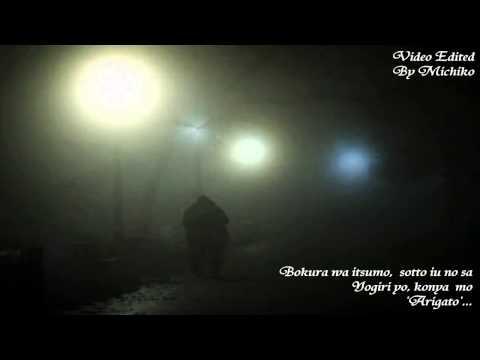 夜霧よ今夜もありがとう 。Yogiri Yo, Konya mo 'Arigato'。Yujiro Ishihara 。Cover