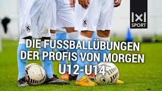 Die Fußballübungen der Profis von morgen (TSV 1860 München) U12-U14  TRAILER