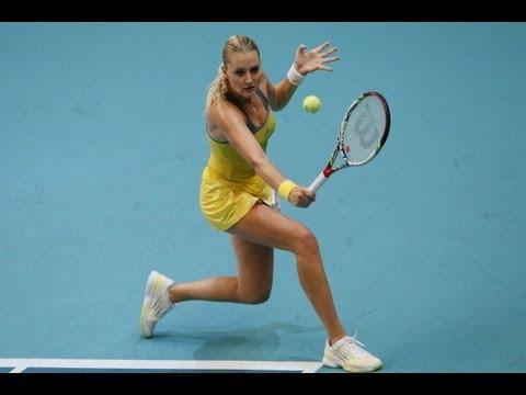 2013 Open GDF Suez Quarterfinal WTA Highlights