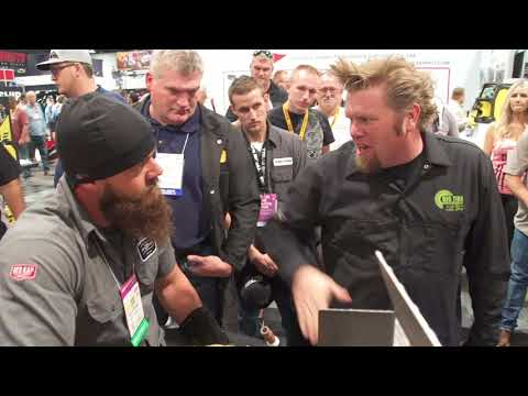 Diesel Brothers Visit ESAB at SEMA