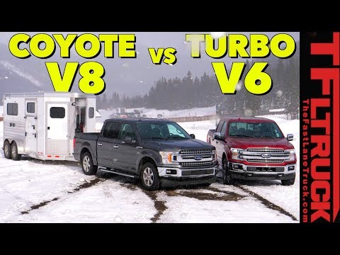 You Asked For It! Ford F-150 V8 and EcoBoost V6 Take On The World\'s Toughest Towing Test