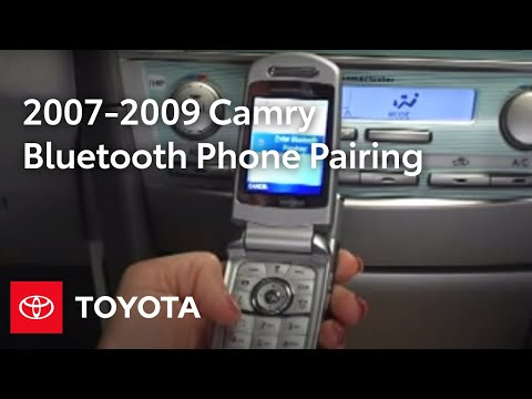 2007 2009 Camry How To Bluetooth 174 Phone Pairing Jbl 6