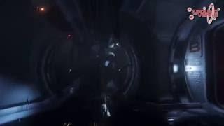 Inside damaged Idris (ATV 3.2 Idris parts w/o commentary)