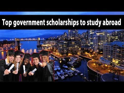 Top government scholarships to study abroad