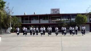 Himno Nacional Mexicano-Banda de Guerra Halcones 240
