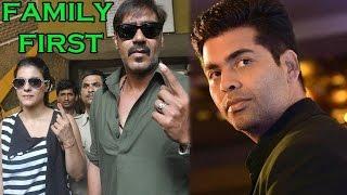 Kajol Supports Husband Ajay Devgan Over Friend Karan Johar | Bollywood Gossip