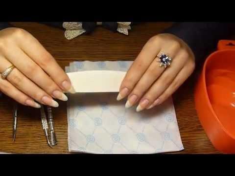 Обрезной маникюр инструкция фото