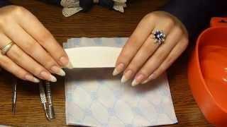 Обрезной маникюр/ Classic manicure