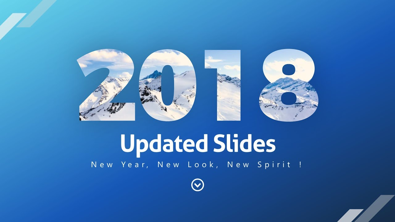 2018 update for 2017 project presentation template youtube