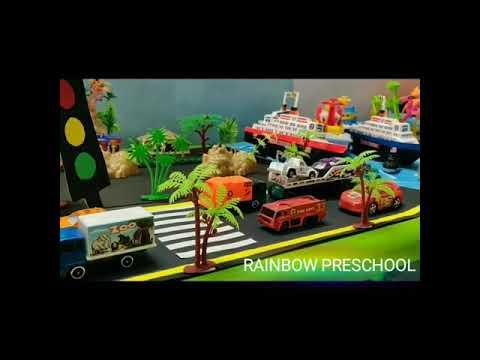 Vehicle Day Celebration - Rainbow Preschool