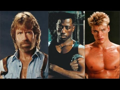 30 Action Stars, Then and Now
