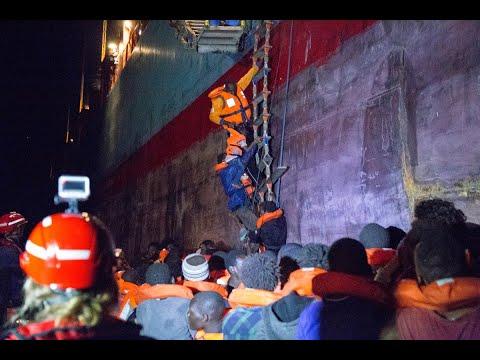 إنقاذ 25 مهاجراً غير قانوني في ليبيا  - نشر قبل 6 ساعة