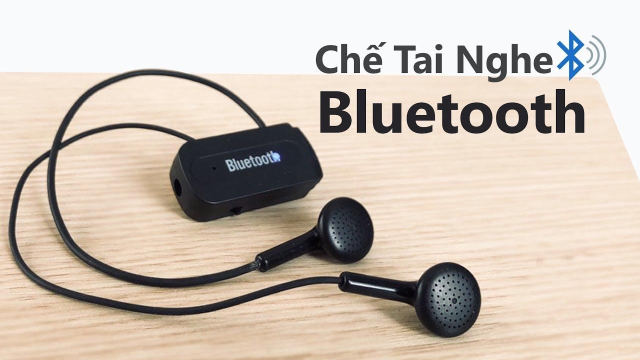 Chế tai nghe BLUETOOTH – Từ tai nghe hỏng CỰC CHẤT
