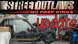 Street outlaws live the new car update