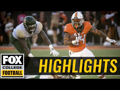 Baylor vs Oklahoma State | Highlights | FOX COLLEGE FOOTBALL