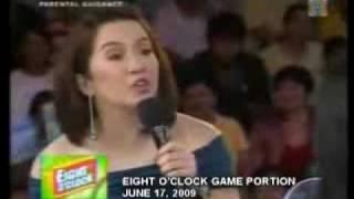 Repeat youtube video Dayaan sa Wowowee Eight O' Clock segment 06-09