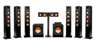Klipsch Reference Premiere HD Wireless Speakers 7.2 Channel's Projector 3D 4K 300 Inch Image
